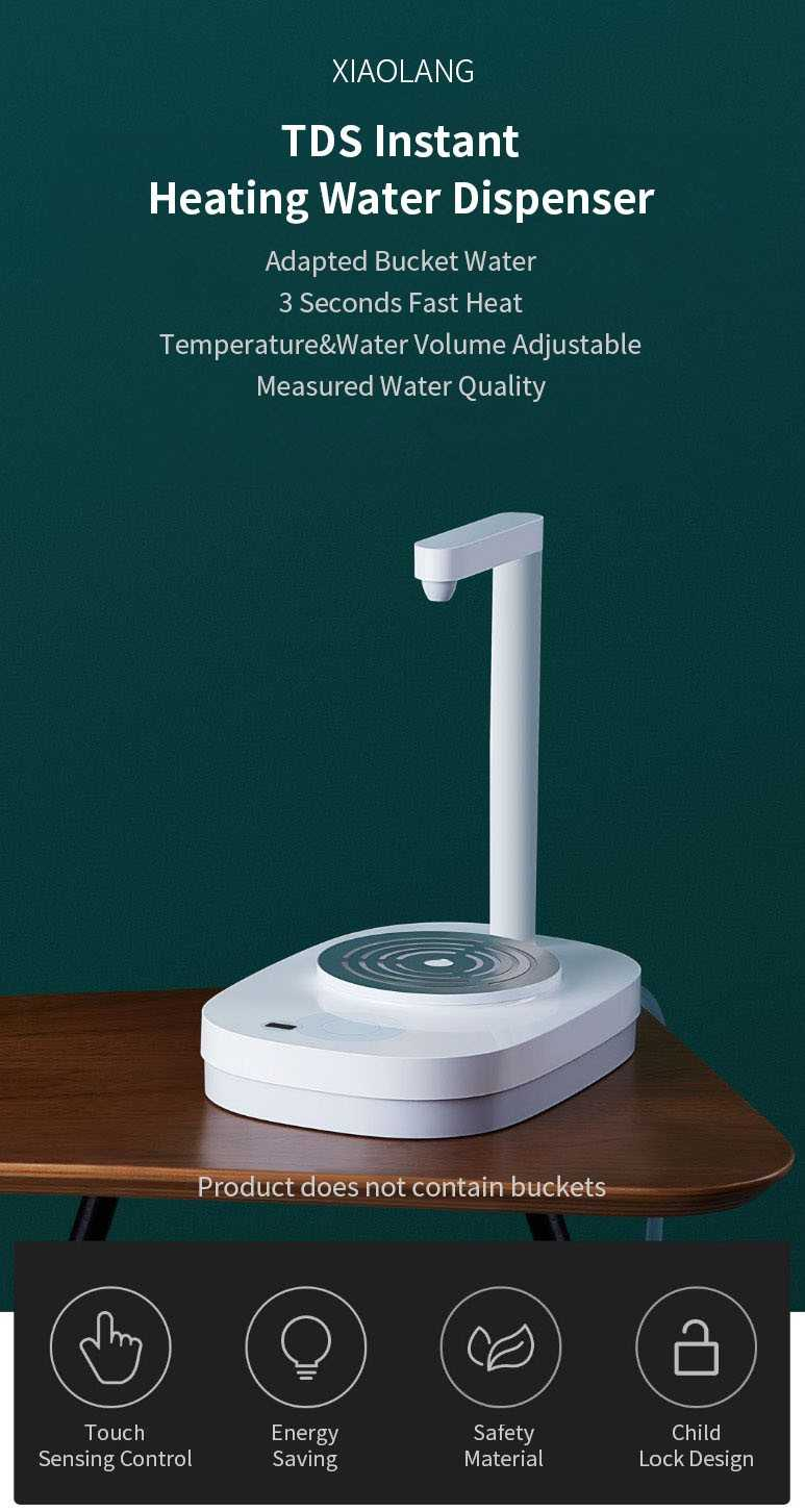 XIAOLANG HD-JRSSQ01 2100W TDS Electric 3s Instant Heating