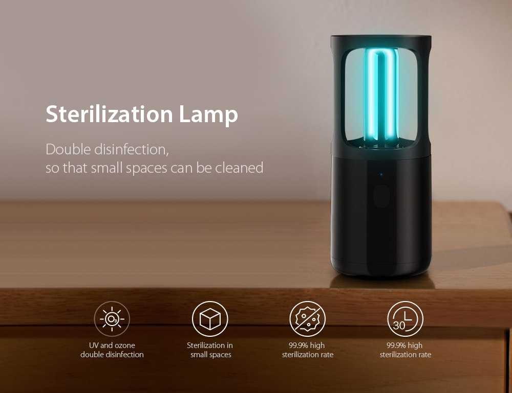 Portable UV Disinfection Lamp