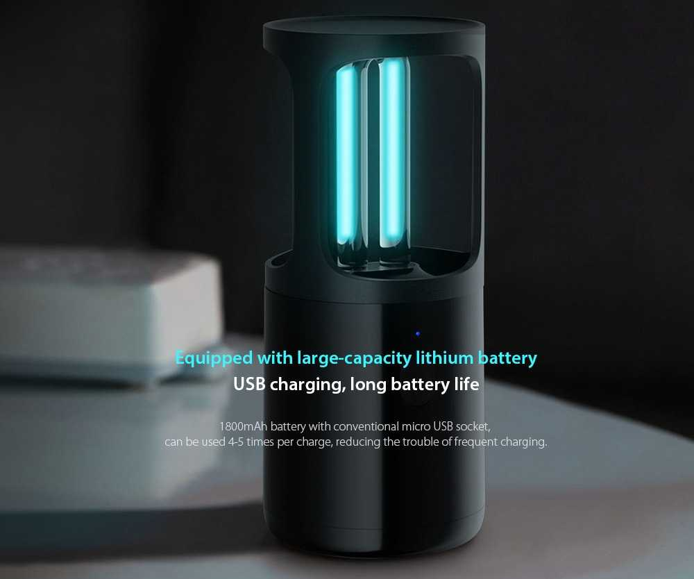Equipped with large-capacity lithium battery