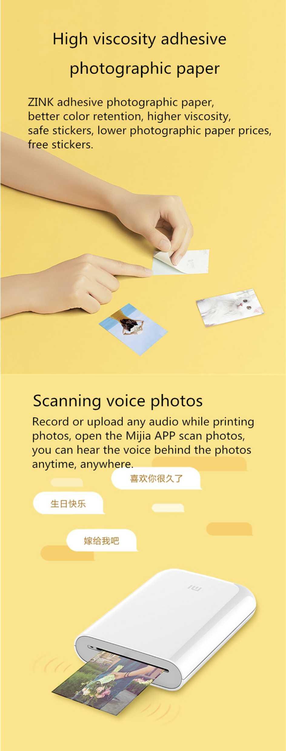 Xiaomi mijia AR Printer