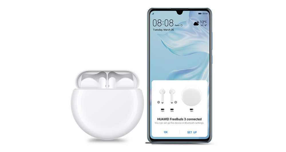 Original HUAWEI FreeBuds 3 FreeBuds3 Bluetooth Earphone