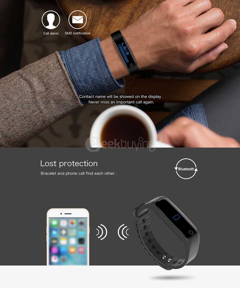 Teclast H30 Smart Bracelet Bluetooth 4.0 with 0.86
