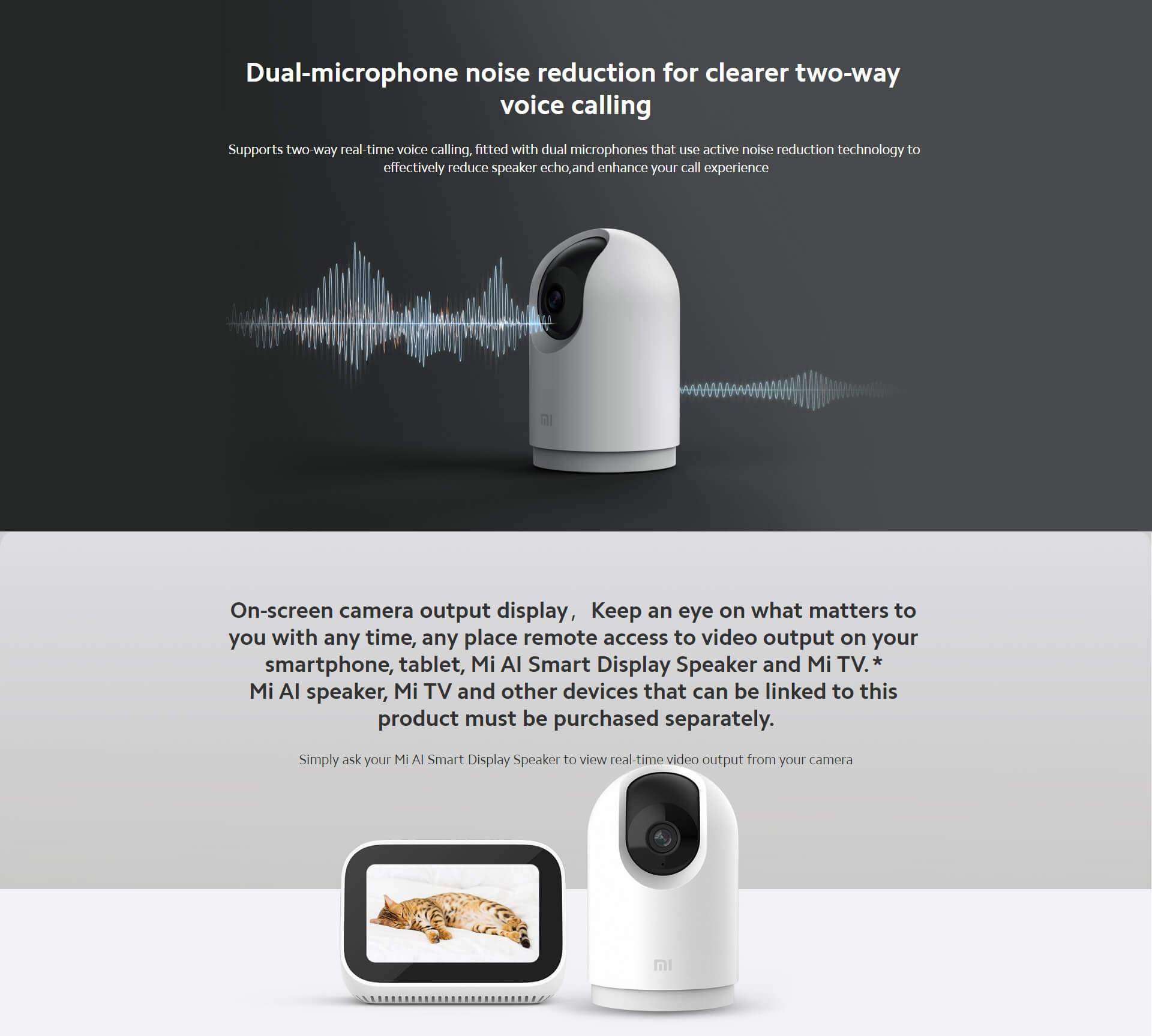 Mi 360 Home Security Camera 2k Pro 3