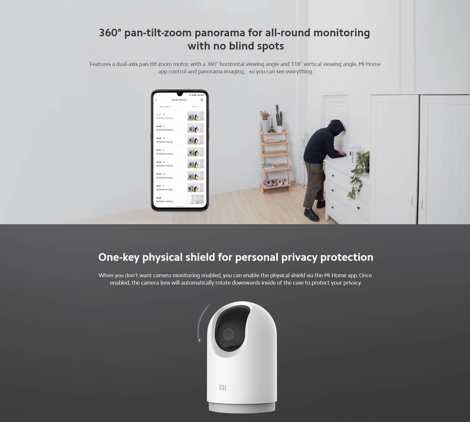 Mi 360 Home Security Camera 2k Pro 4