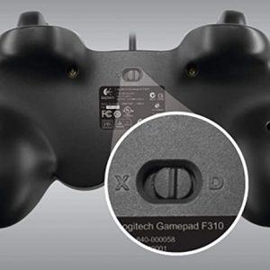 11.logitech F310 Gamepad